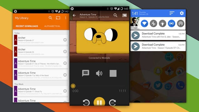 Videostream for Android Streams Movies from Your PC to Your Chromecast