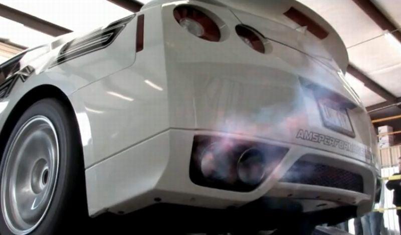 Alpha 9 Nissan GT-R Belts Out 900 HP, 9-Second Quarter Mile