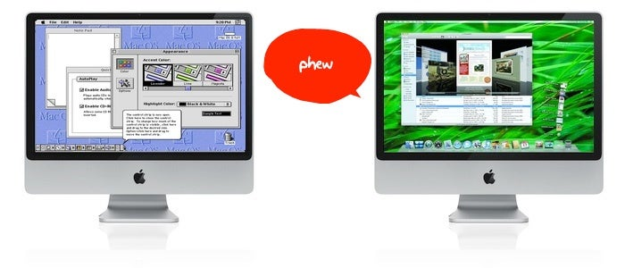 Close Call: Apple's OS X Almost Looked Exactly Like OS 8 (From the Book Inside Steve's Brain)