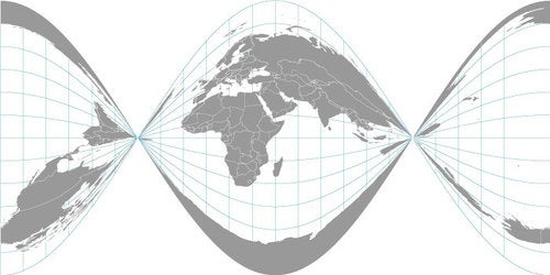 Accidental Map Projections: Map Photos