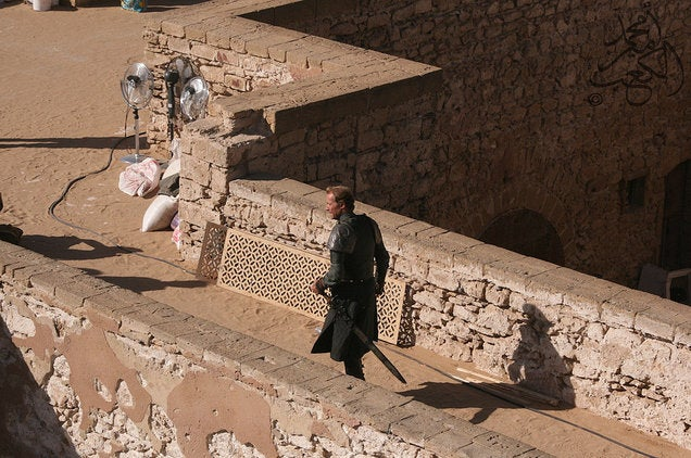 Game of Thrones - Morocco Set Photos