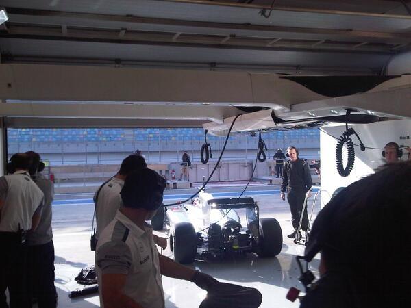 Formula 1:Day Two testing Bahrain
