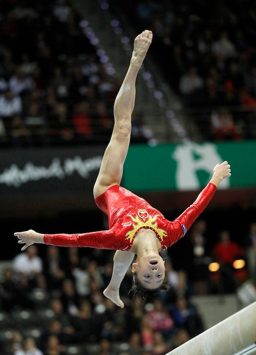 When Will Gymnasts Realize That High Beams Are Scary As All Hell?