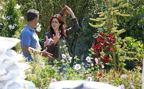 Kate Walsh Has A Habit Of Pulling Hair While Admiring Horticulture