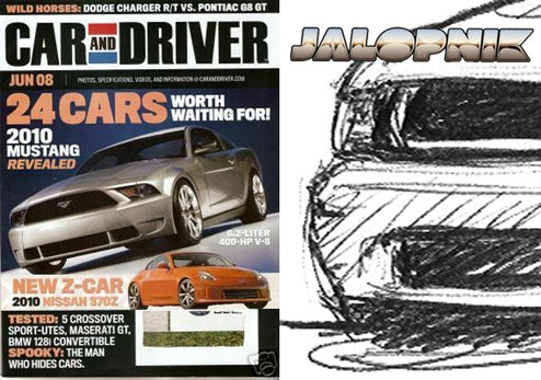2010 Ford Mustang GT, Sketched With Sketchy Speculation