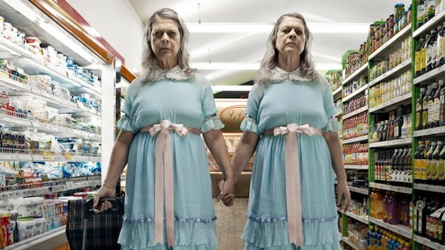 Scary movie villains retire from haunting and move into the old folks' home