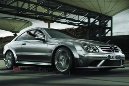 Surprise? New York Auto Show Mystery Mercedes AMG to be the CLK63 Black Series?