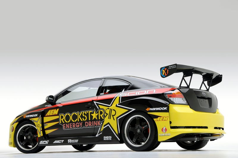 Tanner Foust's Scion tC Drift Car: V8-Powered, RWD, Ridiculous