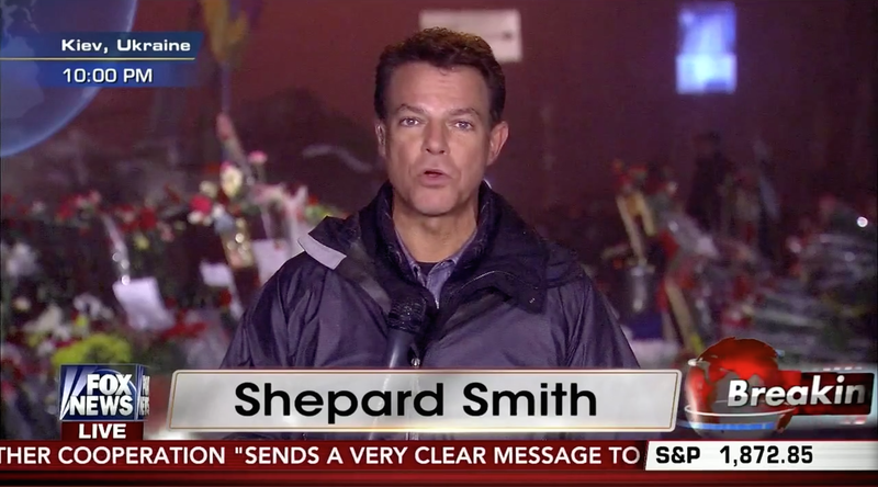 Did Shepard Smith Leave Crimea to Come Out?