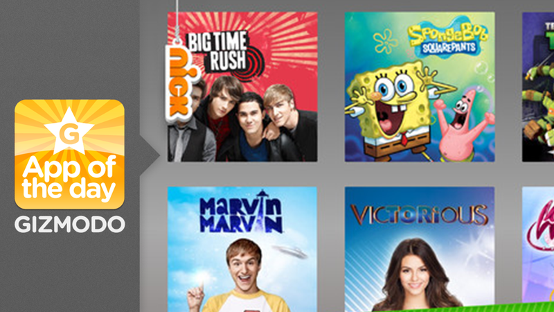Nick App: Binge on Spongebob For All Eternity