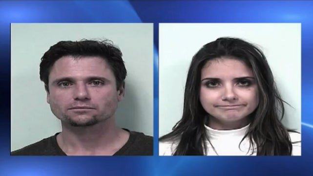 Caught Stealing a Television From a Sports Bar Bathroom, Brother and Sister Try the Old 'We Were Just Having Sex' Excuse [UPDATE]