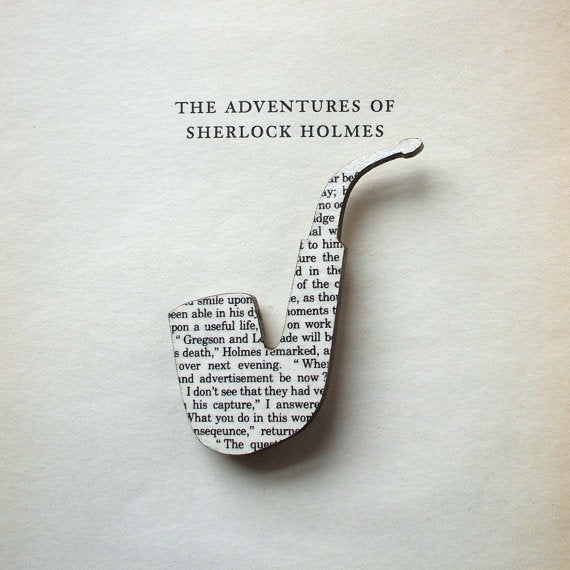 Brooches Made From Classic Books Let You Wear Your Favorite Words
