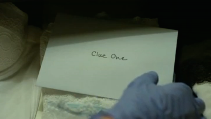 ​Check Out These Eerie New Gone Girl Evidence Bag Posters
