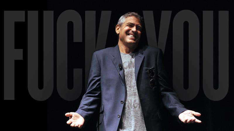 Huh. George Clooney Is Kind of an Asshole.