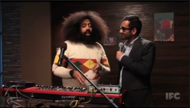 This Week's Top Comedy Video: Reggie Makes Music with Aziz Ansari