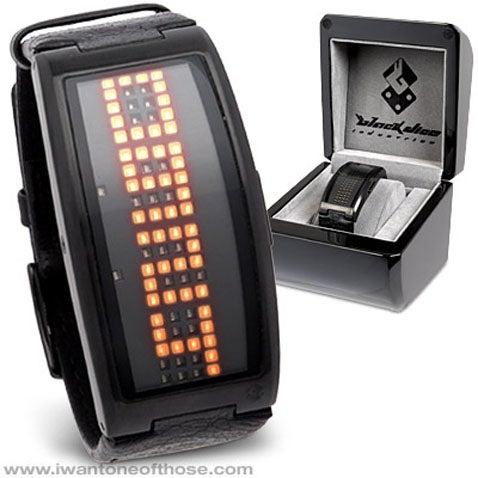 Guru Watch Spreads 82 LEDs Over Fat Wrists