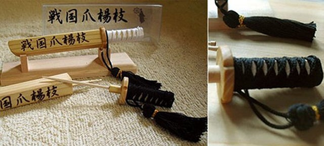 These Samurai Toothpick Holders Bring Great Honor To Your Appetizers