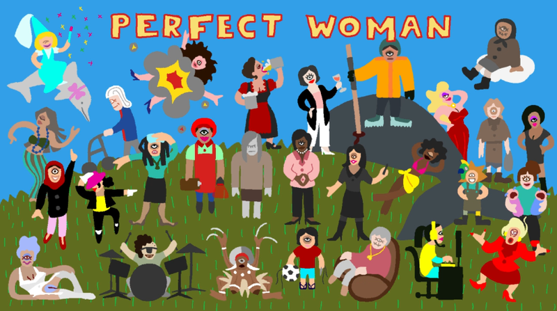 Body-Bending Video Game Perfect WomanCritiques Female Stereotypes