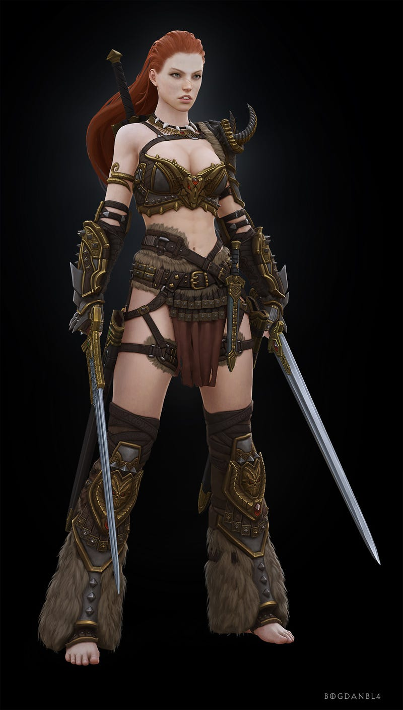 I Don't Remember Diablo III's Barbarian Looking Like This