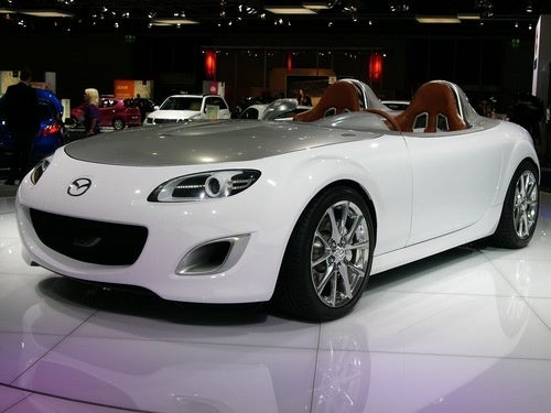 Mazda MX-5 Superlight Concept: Live Photos
