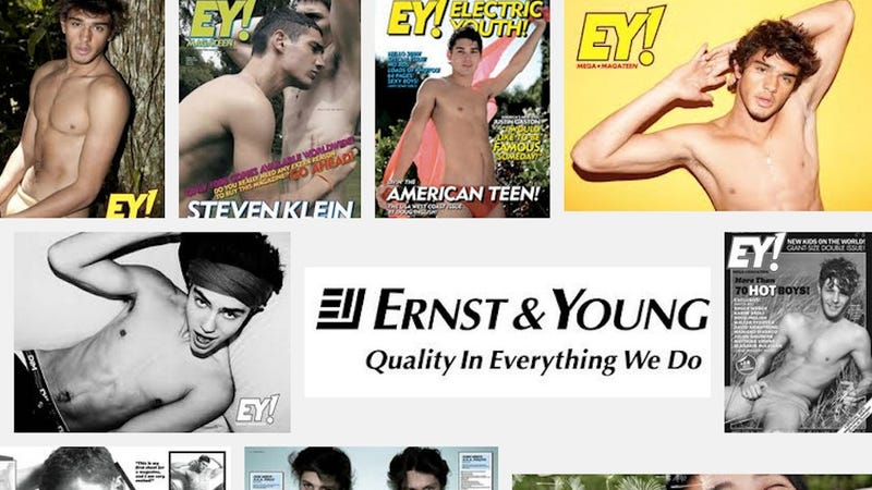 "Ernst & Young Now Shares a Name With a ""Sexy Boys"" Magazine"