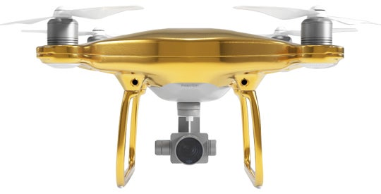 Gold-Plating a Drone Is Officially the Worst Idea