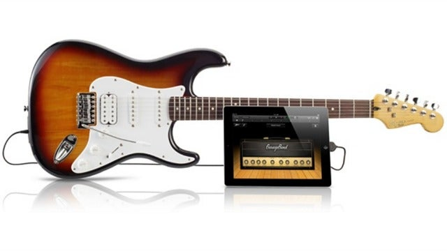 This USB GarageBand Guitar Puts a Little Apple in Your Fender