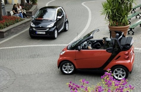 Smart Fortwo with Stop-Start Coming; EV, Hybrids Concepts Get Earthy