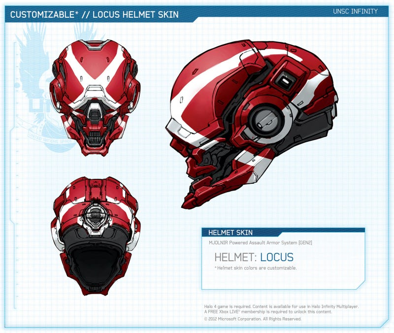 It's Like a Reference Book. Only, For Halo's Spartans.