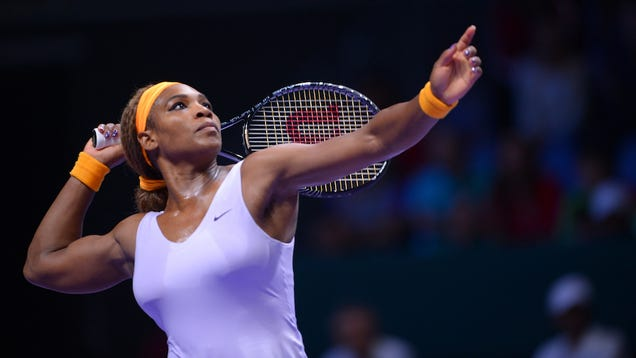 Cnn would have you believe that serena williams was rescued by a man