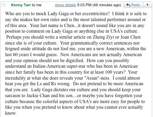 When Racist Lady Gaga Fans Attack