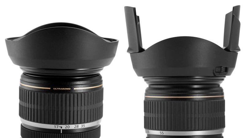 Transforming Cap Guarantees You've Always Got a Lens Hood Handy
