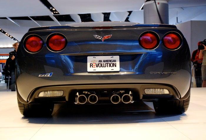 Detroit Auto Show: More 2009 Corvette ZR1 Pr0n!