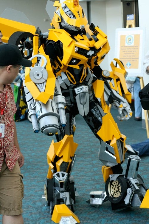 Bitchin' Bumblebee Costume Transforms Into Bitchin' Camaro!