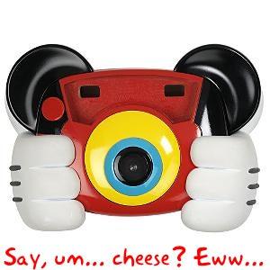 Disney's Mickey Digital Camera Unintentionally Gives Toddlers a Goatse Facial