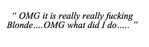 Ryan Adams Liveblogs His Hair-Bleaching Disaster