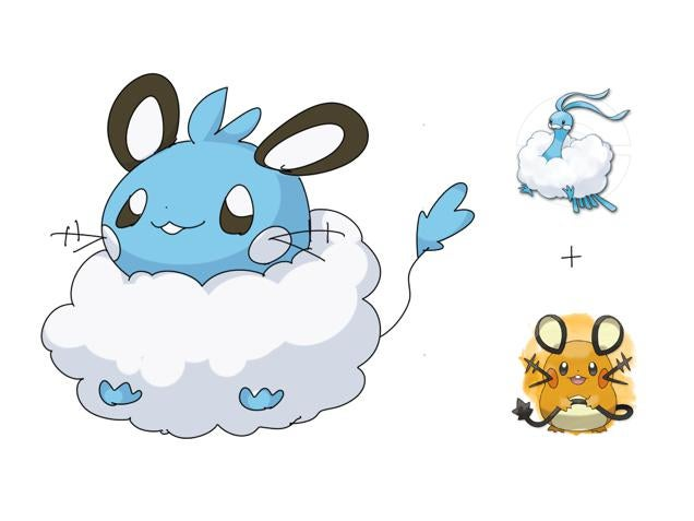 Pokémon Fusions Continue to Make Dreams Reality