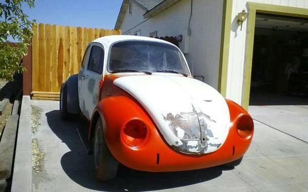 Turbo V6 Powered Beetle, Meet Telephone Pole