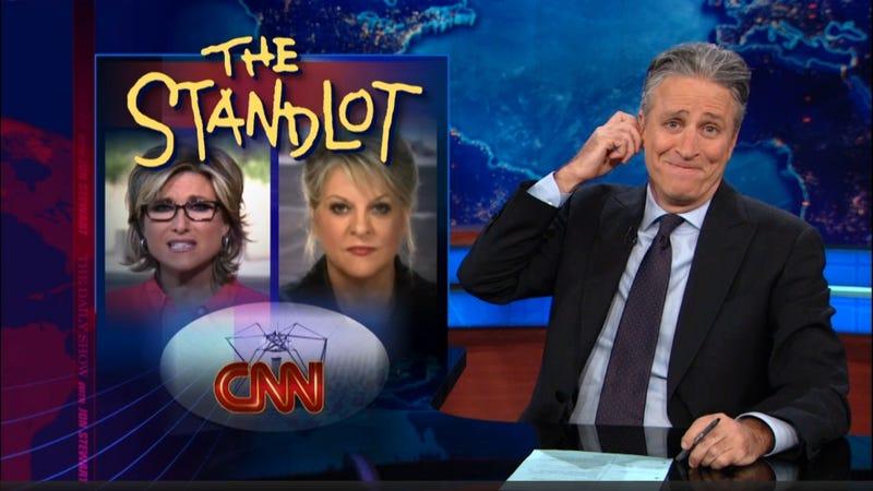 CNN Can't Stop Giving Jon Stewart Stuff to Make Fun Of