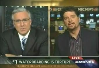 Waterboarding Works! Conservative Recants After Being Tortured