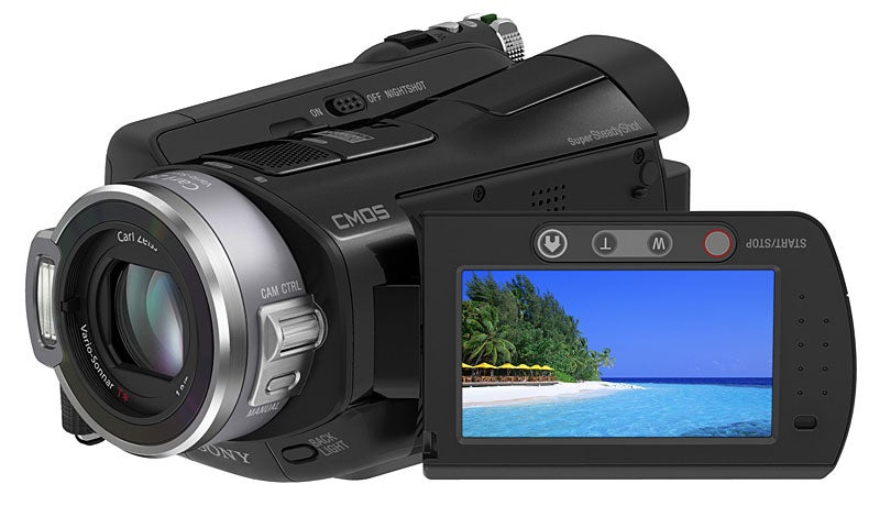 Sony's HD Camcorders Rock the High Def, One Solid State, Two with a Hard Disk