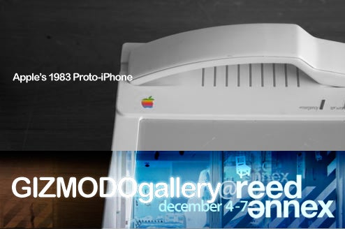 At Gizmodo Gallery: Ancient Apple Phone Prototypes