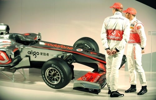 McLaren Unveils 2010 Formula One Car, We Listen In On Drivers' Chat