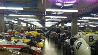 Indianapolis Motorspeedway Museum - The Basement