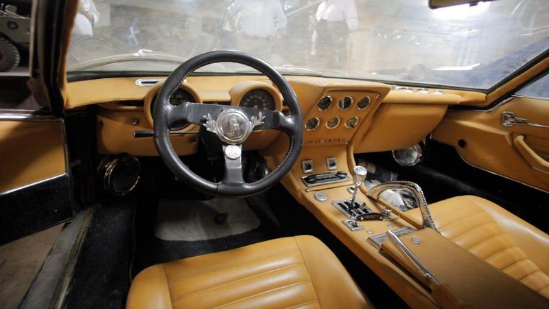 The Greek Elvis's Lamborghini Miura S