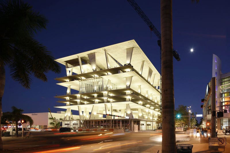 Miami's Incredible $65 Million, Wall-Free Parking Garage