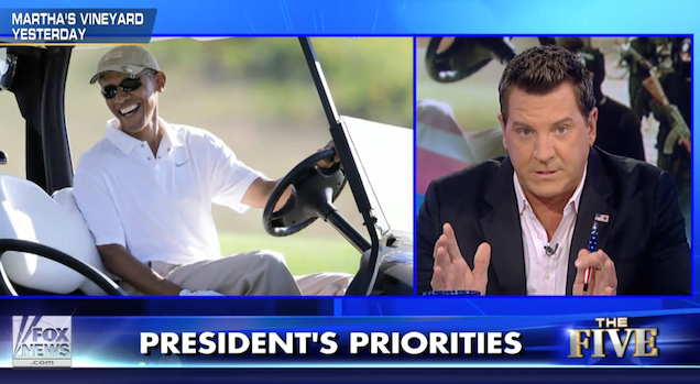 Here's Why Fox News Can't Stand Obama Playing Golf