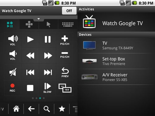 Download Logitech's Google TV Remote App For Android Now