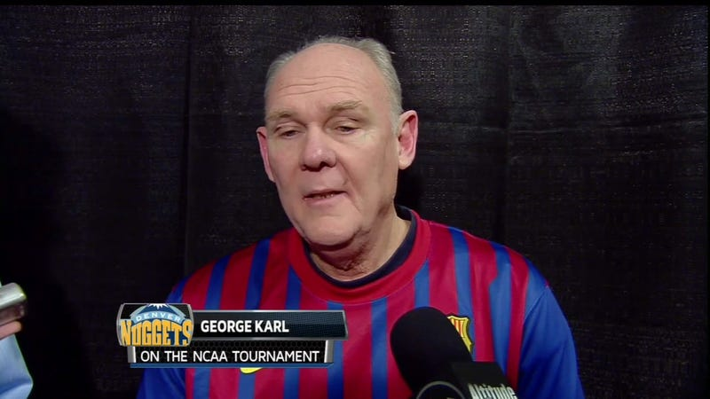 Even George Karl Has Jumped Aboard The Messi Bandwagon