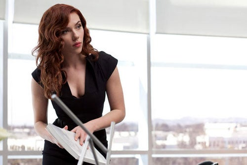 ScarJo Is Smoking In New Iron Man 2 Stills, While Doctor Who's Fires Rage On